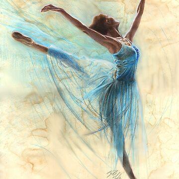 Blue Ballerina by missmuffin