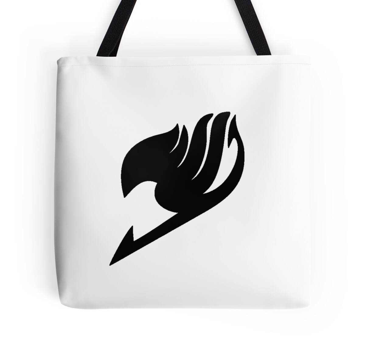 Black fairy tail symbol tote bags by secarus redbubble black fairy tail symbol by secarus biocorpaavc Image collections
