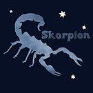 Sternzeichen Skorpion - groß by NafetsNuarb