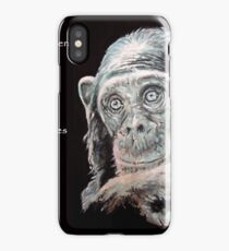 A Jane Goodall quote iPhone Case