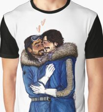 Cassian and Bodhi on Hoth Graphic T-Shirt