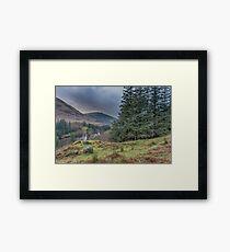 Location of Hagrid's Hut, Glen Coe Framed Print