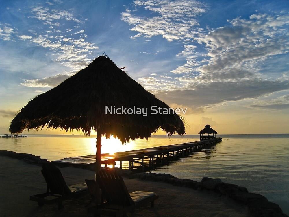 Beach Sunrise by Nickolay Stanev