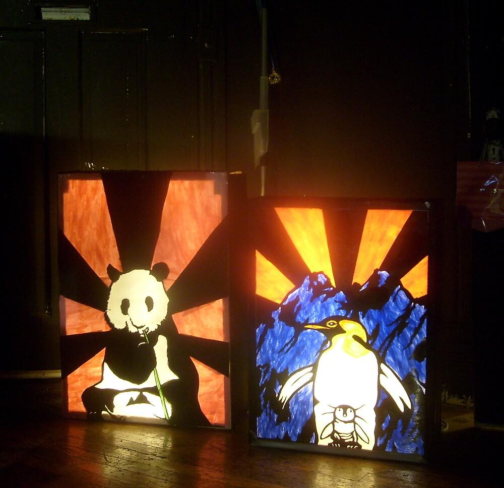 lightbox experiments  by NicolasCain