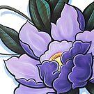 Purple Flower by Thomas Jacobson