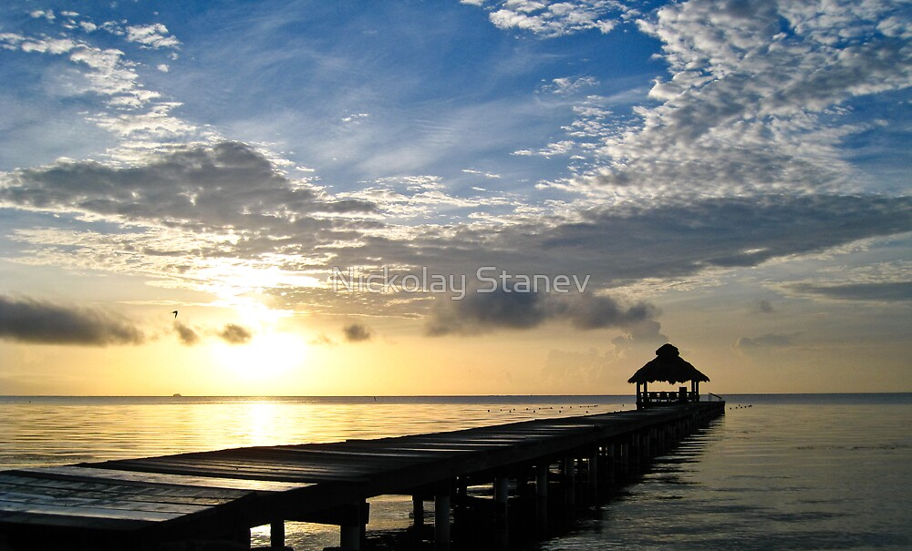 Ambergris Caye by Nickolay Stanev