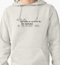 Who we are Pullover Hoodie