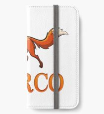 Marco Fox iPhone Wallet/Case/Skin