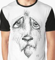 Sad Eyes Puppy Graphic T-Shirt