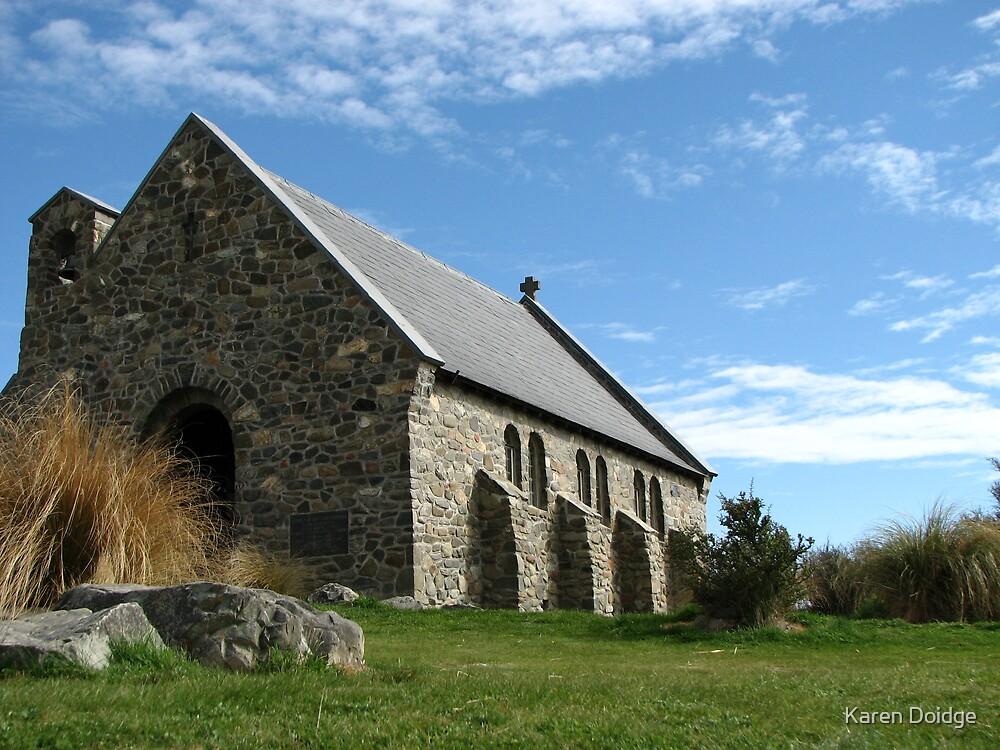 Church of the Good Shepherd, Lake Tekapo NZ by Karen Doidge