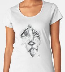 Sad Eyes Puppy Women's Premium T-Shirt