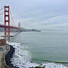 Golden Gate Bridge With Fort Point by Lynda Anne Williams