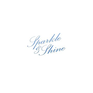 Sparkle & Shine - Blue by TresChicXO
