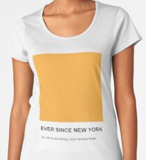 Seit New York Premium Rundhals-Shirt