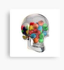 Death & Bubblegum Metal Print