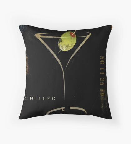 Olive Martini Throw Pillow