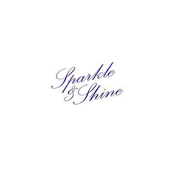 Sparkle & Shine - Purple by TresChicXO