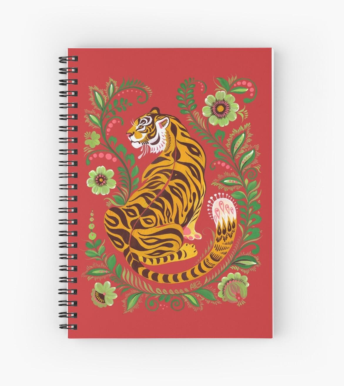 «Tiger Folk Art» de Anna Bucciarelli
