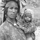 Ladakhi mother and child by garryr