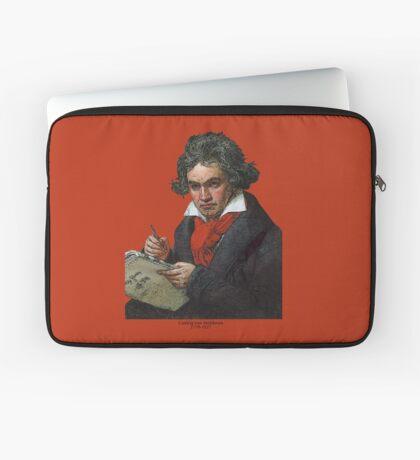 Ludwig van Beethoven Grunge Laptop Sleeve