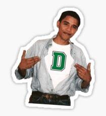 Barack Obama Dartmouth Sticker
