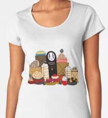 No Face and The Soot Sprites Women's Premium T-Shirt