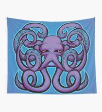 Pop Art Octopus Artwork Wall Tapestry