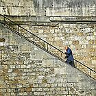Up the stairs by cclaude