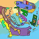 """""""Machine Shapes 01"""" Color by MarkArTurner"""