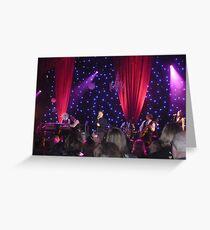 Jason Donovan concert Greeting Card