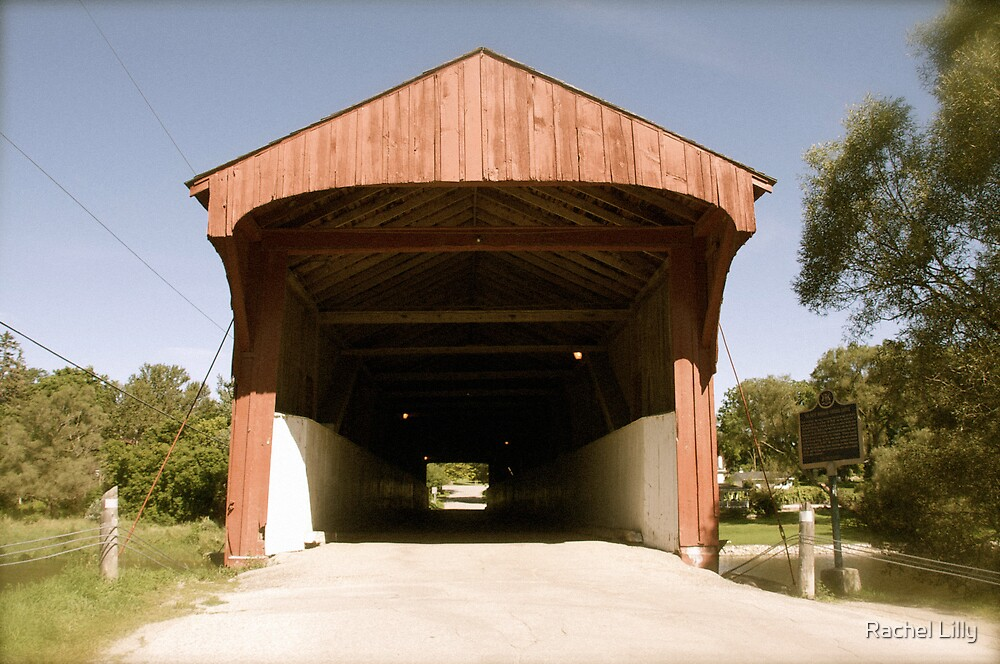 The West Montrose Covered Bridge by Rachel Lilly