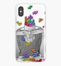 Tetris on my Mind iPhone Case/Skin