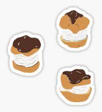 Cream Puffs Sticker