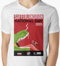 Sufferlandrian National Day 2017 Men's V-Neck T-Shirt