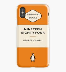 Penguin Book Nineteen Eighty Four iPhone Case/Skin