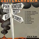 Tour of Sufferlandria 2018 Official Poster by GvA The Sufferfest
