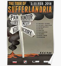 Tour of Sufferlandria 2018 Official Poster Poster