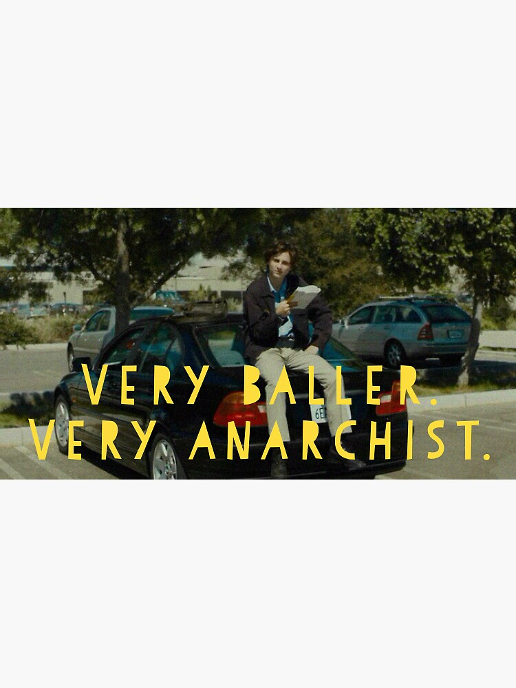 Very baller. Very Anarchist  by abbysheahan
