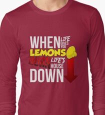 When Life Gives You Lemmons Long Sleeve T-Shirt