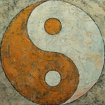 Gold Yin Yang by michaelcreese