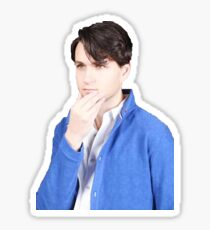 ezra koenig - thinking Sticker