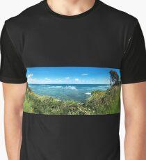 Inverloch Beach Panorama Graphic T-Shirt