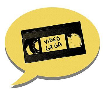 Video Ga Ga merch by belugatoons