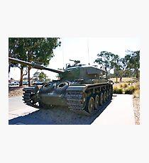 Australian War Memorial - Tank Photographic Print