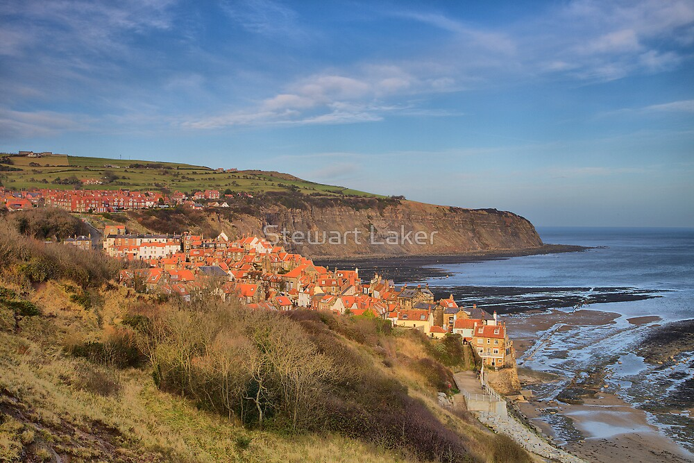Robin Hood's Bay by Stewart Laker