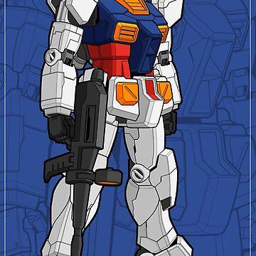 RX 78 Gundam by Snapnfit