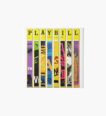 Custom Broadway Playbill Framed Art Collage Art Board