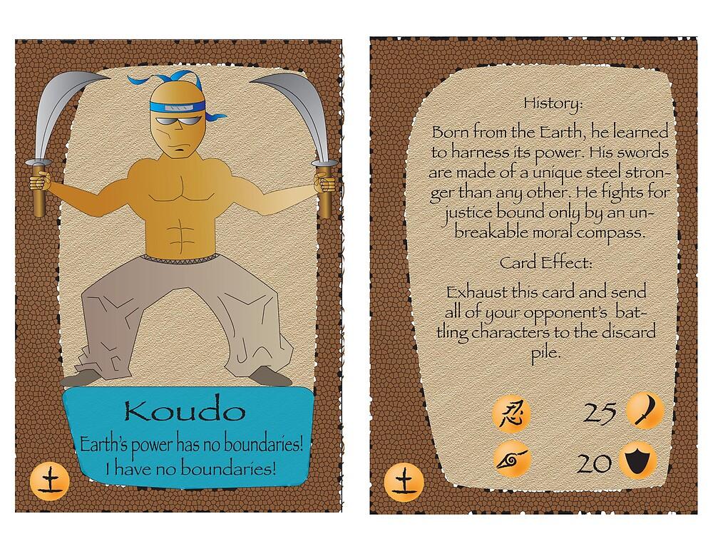 Koudo Trading Card by Angel Contreras