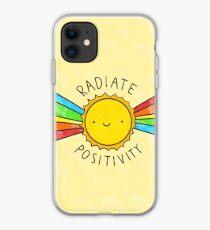 Vinilo o funda para iPhone Irradiar positividad