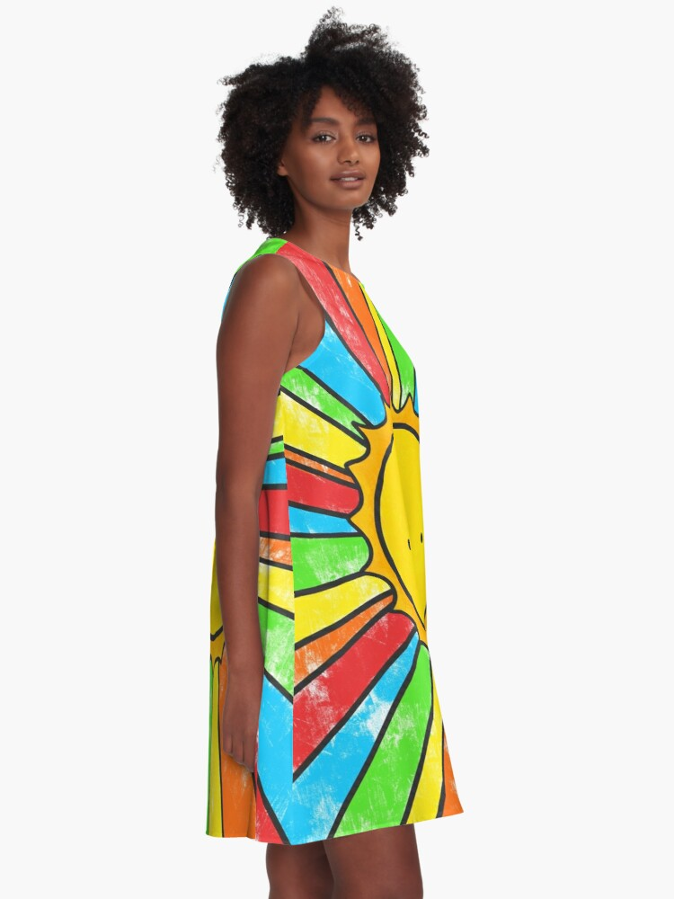Alternate view of Radiate Positivity A-Line Dress